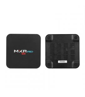 MXR Pro Android TV Box - 4K Support, Quad-Core CPU, 4GB RAM, Android 7.1, Google Play, Kodi, Bluetooth, WiFi, 64GB SD Card Slot