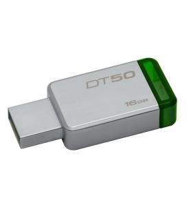 PENDRIVE 16GB USB 3.1 KINGSTON DT50 VERDE