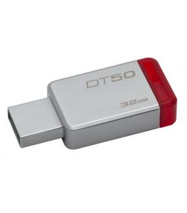 PENDRIVE 32GB USB 3.1 KINGSTON DT50 ROJO
