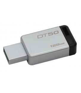 PENDRIVE 128GB USB 3.1 KINGSTON DT50 NEGRO