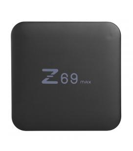 Z69 Max Android TV Box - Android 7.1.2, Bluetooth 4.1, WiFi, Google Play, Kodi TV, Octa-Core CPU, 3GB RAM, 4K Support, DLNA