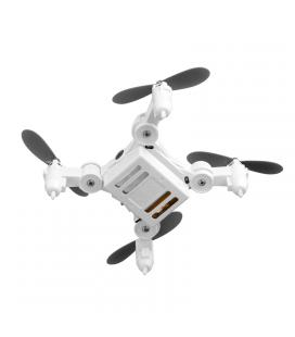 SMAO M1HS Mini Drone - One Key Landing And Take Off, FPV, WiFi, App Support, 220mAh, LED Lights, 0.3MP Camera (White)