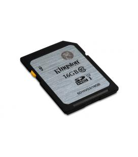 MEMORIA SD 16GB SDHC KINGSTON CLASE 10 UHS-I (U1) - Imagen 1