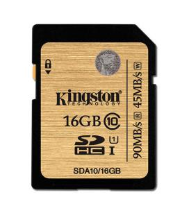 MEMORIA SD 16GB SDHC KINGSTON CLASE 10 UHS-I - Imagen 1