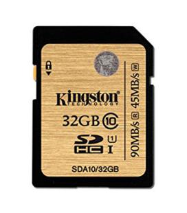 MEMORIA SD 32GB SDHC KINGSTON CLASE 10 UHS-I - Imagen 1