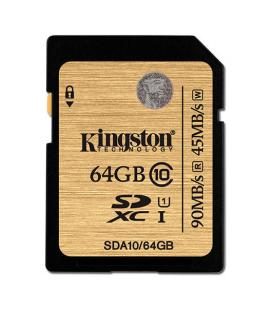 MEMORIA SD 64GB SDXC KINGSTON CLASE 10 UHS-I - Imagen 1