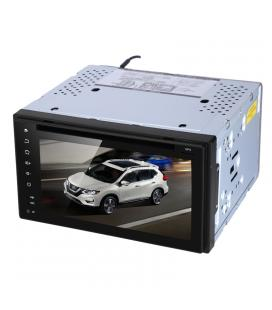 Nissan 2 DIN DVD Player - 6.2 Inch Screen, Android 6.0, Octa Core CPU, GPS, Bluetooth, Car DVR, Parking Camera, Region Free