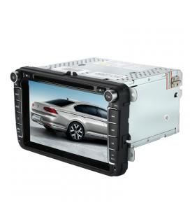2 DIN Car DVD Player VW Passat - 8 Inch Display, Android 7.1, WiFi, 3G Support, Car DVR, Parking Camera, GPS, Octa-Core CPU