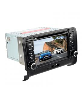 2 DIN Car DVD Player Audi TT - Android 6.0, Car DVR, Rear View Camera, GPS, 7 Inch HD, 3G Support, WiFi, Google Play, Octa-Core