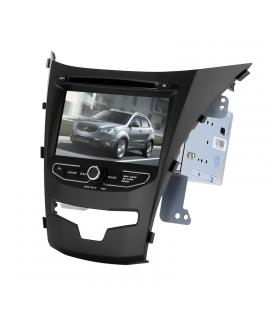 2 DIN Car DVD Player - For SsangYong Korando, 7 Inch HD Display, Octa-Core, GPS, WiFi, 3G, Bluetooth, CAN BUS, Android 6.0
