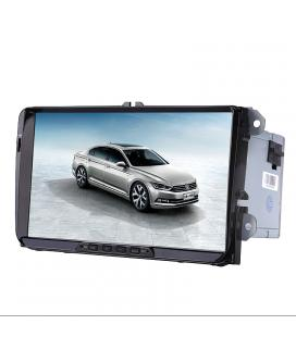 2 DIN Car Stereo VW Passat - 9-Inch HD Display, Android 6.0, Bluetooth, WiFi, 3G, Google Play, CAN BUS, Octa-Core CPU, GPS