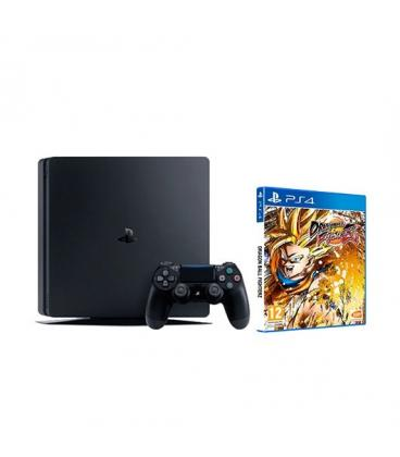 VIDEOCONSOLA SONY PS4 1TB + DRAGON BALL FIGHTERZ - Imagen 1