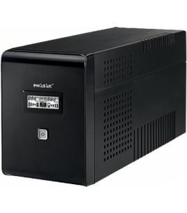 SAI 2000VA PHASAK DISPLAY LCD 2XSCHUKO PH 9420 - Imagen 1