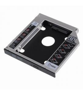 EWENT ADAP.HDD/SSD SATA PARA UNIDAD ÓPTICA 12.7mm - Imagen 1