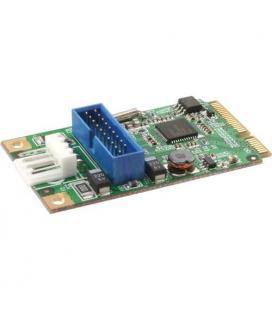 Inline 66900. Tarjeta Mini-PCIe, 2xUSB 3.0