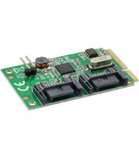 Inline 66901. Tarjeta Mini-PCIe, 2xSATA 6Gb/s - Imagen 1
