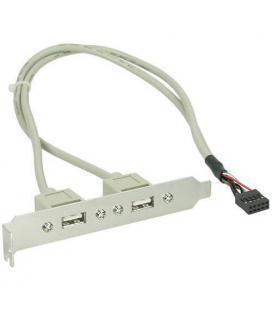Bracket con dos salidas USB 2.0