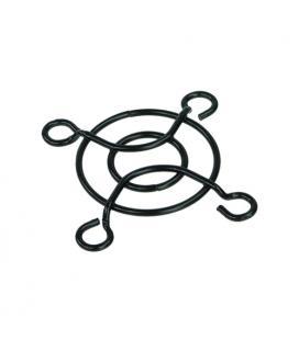 Phobya rejilla metálica para ventiladores de 40mm. Color Negro. - Imagen 1