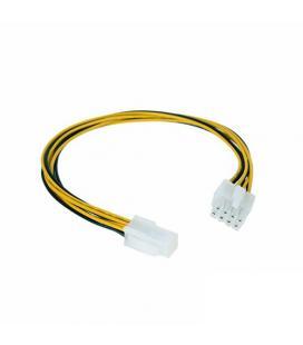 Nanocable 10.19.1401. Cable alimentación. 4-Pin/H a 4+4Pin/M. 15cm