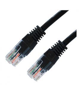 Cable UTP Cat.5E 0.5m Negro - Imagen 1