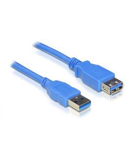 Nanocable 10.01.0902-BL. Cable USB 3.0. Tipo A/M-A/H. Azul. 2.0m - Imagen 1