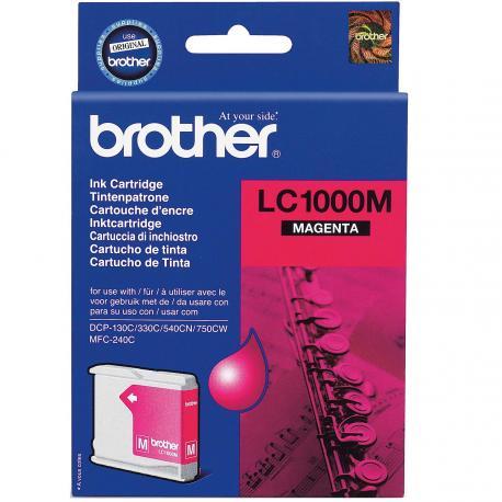 CARTUCHO DE TINTA BROTHER MAGENTA - Imagen 1