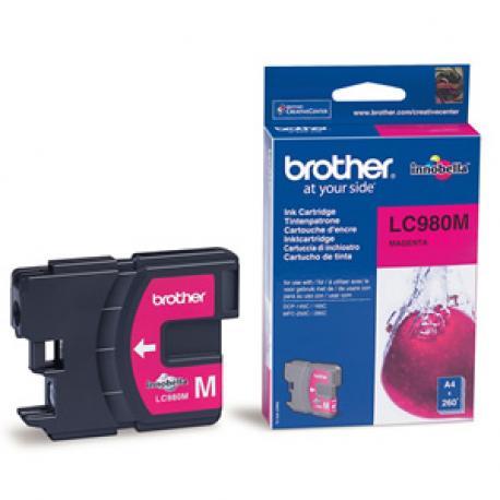 CARTUCHO TINTA BROTHER LC-980 260 - Imagen 1