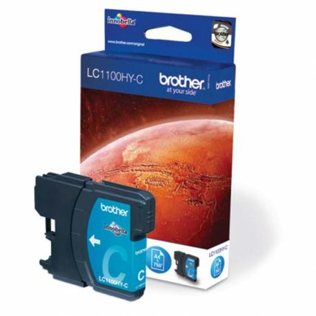 CARTUCHO TINTA BROTHER LC-1100HY 750 - Imagen 1