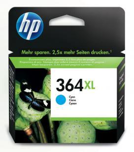 HP Cartucho de tinta original 364XL de alta capacidad cian