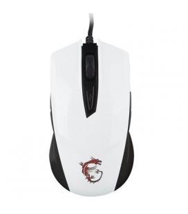 MSI Ratón Gaming Clutch GM40 dpi5000 Blanco