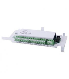 Módulo con 4 salidas de relé + Interface RS232/485 para central Unipos FS4000-4 - Imagen 1