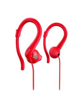AURICULARES PHILIPS ACTIONFIT SHQ1250TRD/00 ROJO