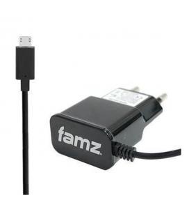 Cargador micro USB 1.200mAh negro