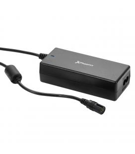 Adaptador cargador de corriente universal automatico 90w low cost phoenix phcharger90l/c (incluye 12 conectores)  para portatile