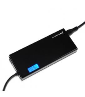 Adaptador cargador de corriente universal  automatico 90w phoenix pantalla lcd (incluye 12 conectores) para portatiles / netbook