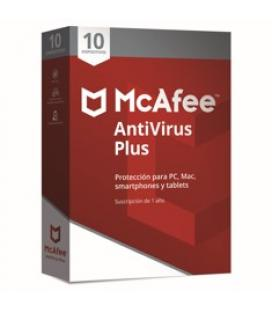 Antivirus mcafee antivirus plus 2018 10 dispositivos