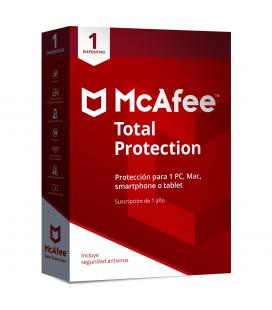 Antivirus mcafee total protection 2018 1 dispositivo - Imagen 1