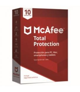 Antivirus mcafee total protection 2018 10 dispositivos - Imagen 1