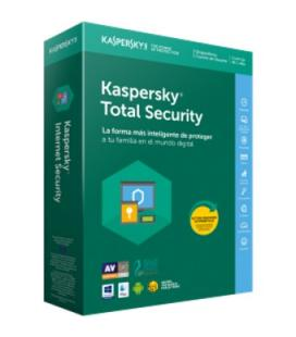 Antivirus kaspersky total secusity 2018 5 licencias - Imagen 1