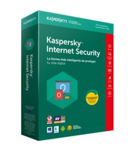 Antivirus kaspersky internet security 2018 10 licencias - Imagen 1