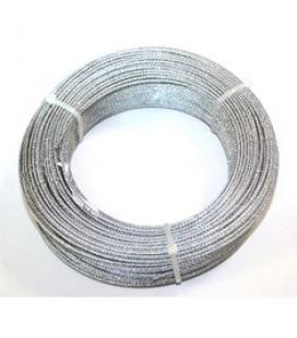 Cable acero galvanizado 2mm (6x7+1) rollo 100 metros