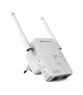 Repetidor / extensor de cobertura / router / punto de acceso phoenix phw-repeater300+ wifi n/g/b n 300mbps 10/100 amplificador c