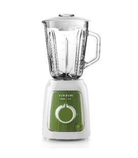 Batidora de vaso taurus prior glass / jarra de 1.5l / acero inoxidable / 600w