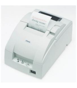Impresora ticket epson tm-u220b corte usb negra