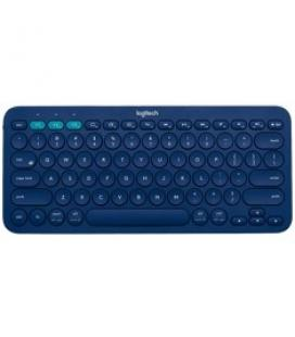 Teclado logitech k380 multi-device bluetooth azul