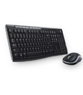 Teclado + mouse logitech mk270 wireless ingles