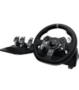 Volante logitech g920 gaming driving force racing wheel para pc & xbox - Imagen 1