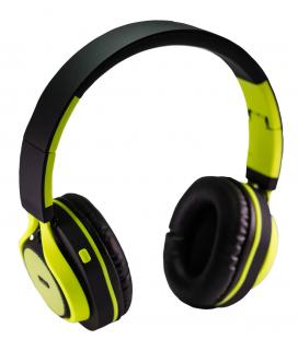 CoolBox Coolhead Auriculares Bluetooth con Microfono Amarillo/Negro