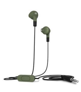Auriculares motorola earbuds microfono/ 1.2m/ verde oliva