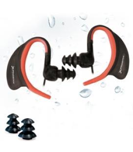 Auriculares sport con microfono phoenix sportwater estereo/ resistentes al agua y al sudor ipx8 / deporte